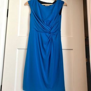 Beautiful knot-front women's bright royal blue